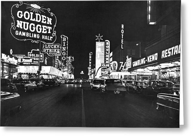 The Las Vegas Strip Greeting Card