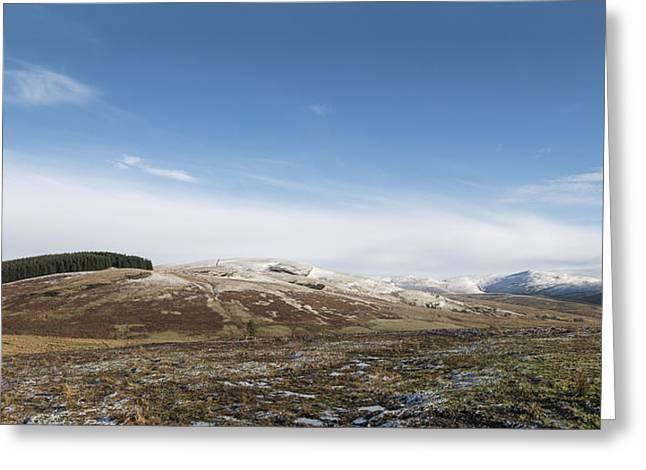The Ochil Hills Greeting Card