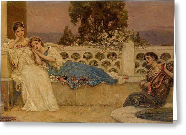 The Serenade Greeting Card