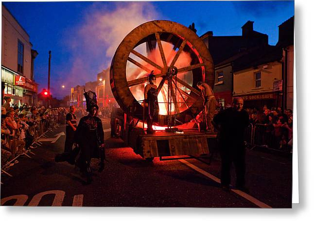 The Spraoi Street Festival, Waterford Greeting Card by Panoramic Images