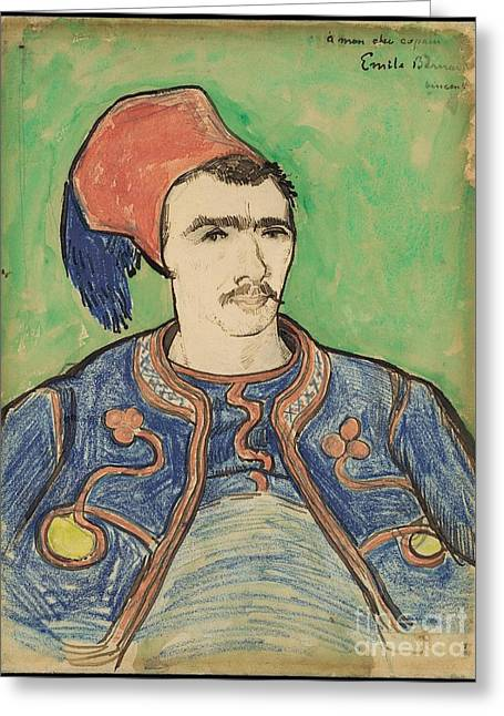 The Zouave Greeting Card by Celestial Images