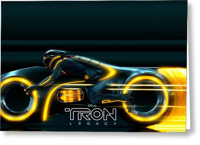 Tron Legacy                     Greeting Card