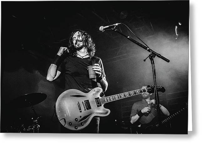 Uk Foo Fighters Live @ Edinburgh Greeting Card