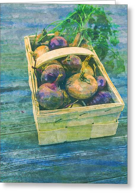 Vegetables Harvest Cultivation  Greeting Card