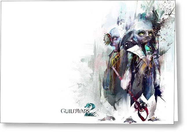 Video Games Guild Wars 2                  Greeting Card by F S