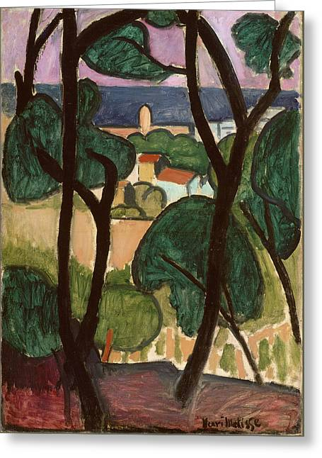 View Of Collioure Greeting Card