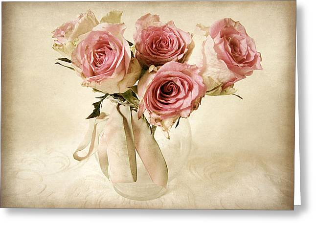 Vintage Bouquet Greeting Card