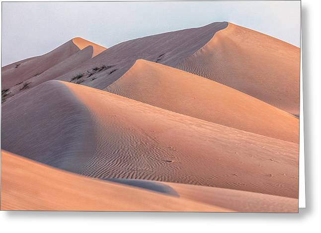 Wahiba Sands - Oman Greeting Card