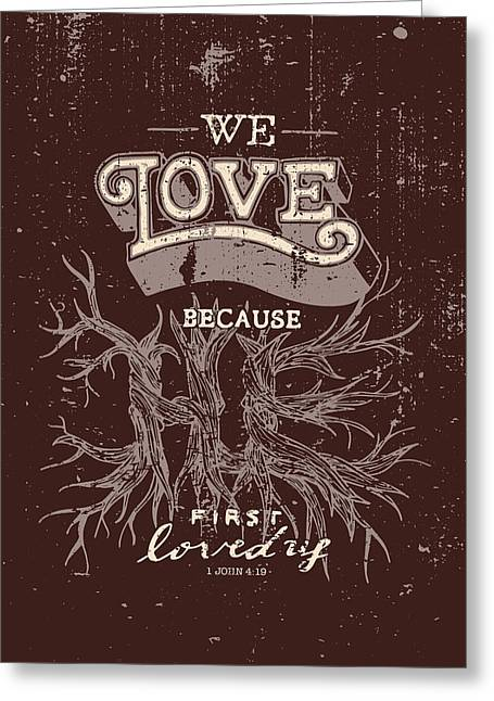 We Love Greeting Card
