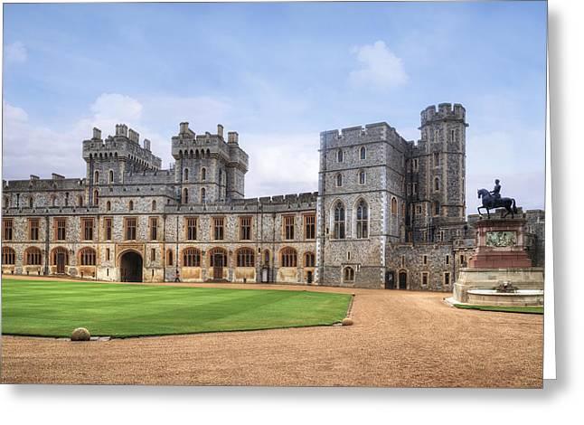 Windsor Castle Greeting Card by Joana Kruse