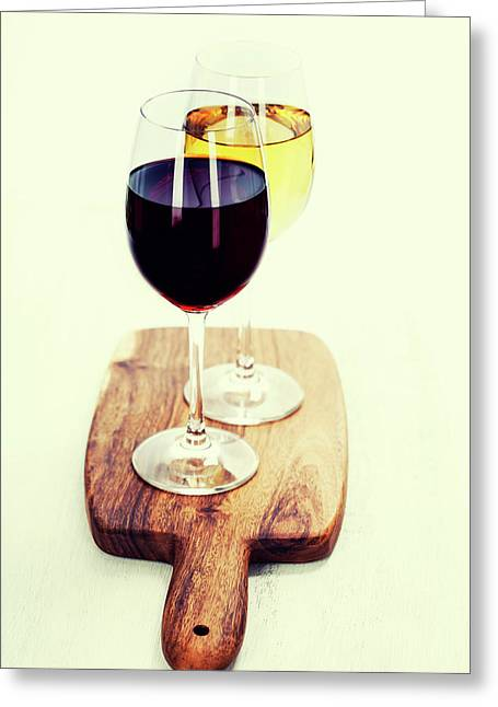 Wine Greeting Card