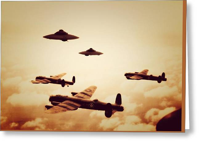 Wwii What If Greeting Card by Raphael Terra