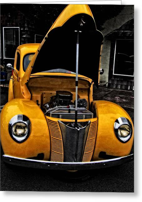 40 Ford Coupe Greeting Card by Thom Zehrfeld