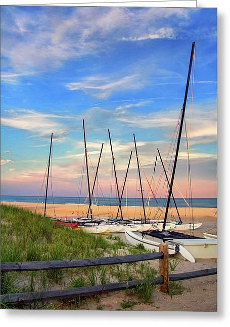 41st Street Beach In Ocean City Nj Greeting Card