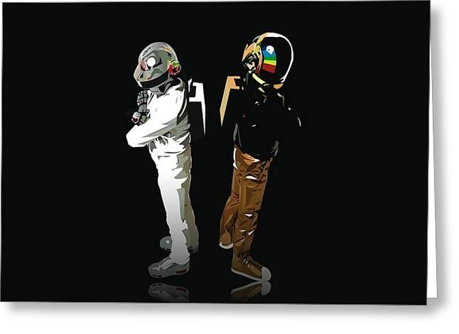 Daft Punk                     Greeting Card