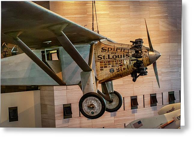 4273- Air And Space Museum  Greeting Card by David Lange
