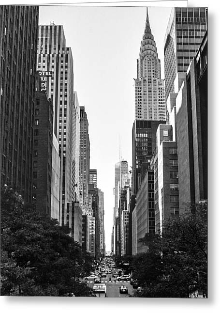 42nd St View Greeting Card
