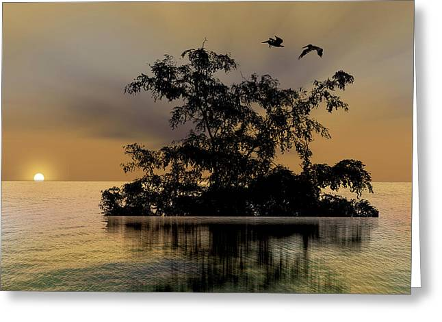 Greeting Card featuring the photograph 4374 by Peter Holme III