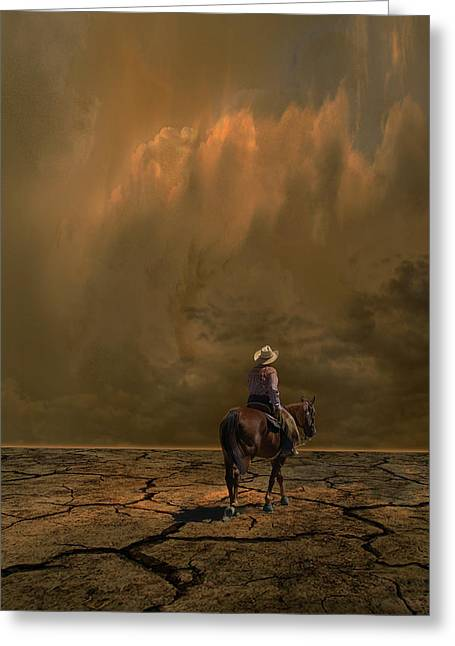 Greeting Card featuring the photograph 4378 by Peter Holme III