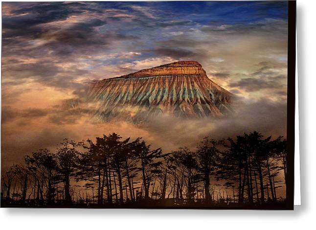 Greeting Card featuring the photograph 4381 by Peter Holme III