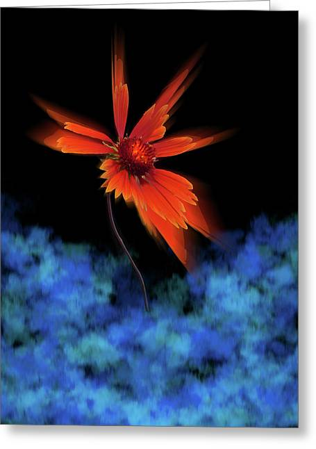 Greeting Card featuring the photograph 4383 by Peter Holme III