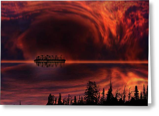Greeting Card featuring the photograph 4385 by Peter Holme III