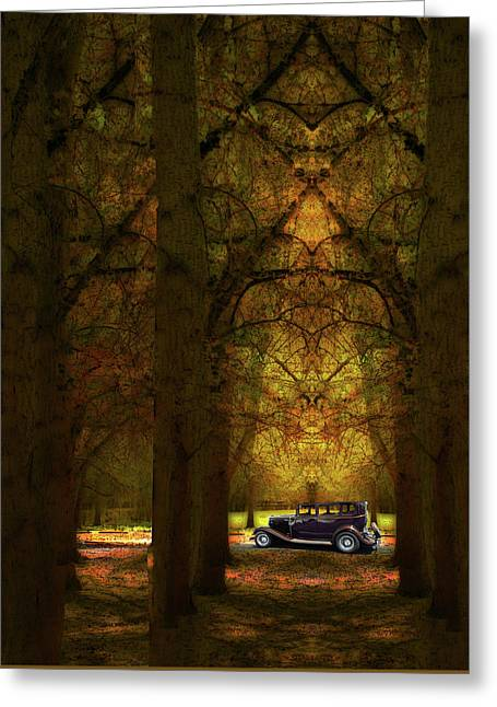 Greeting Card featuring the photograph 4390 by Peter Holme III