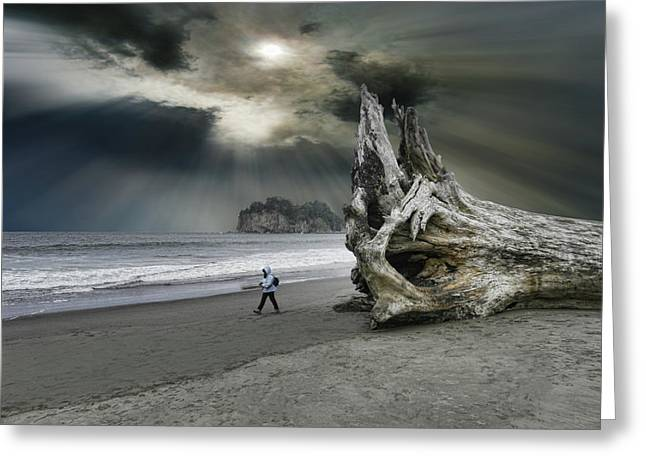 Greeting Card featuring the photograph 4392 by Peter Holme III