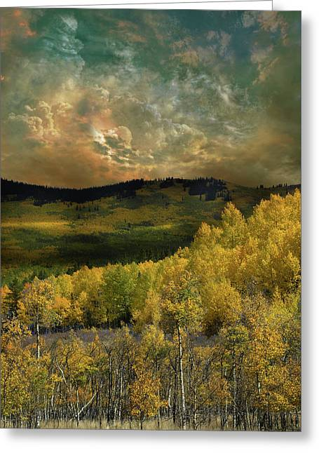 Greeting Card featuring the photograph 4394 by Peter Holme III