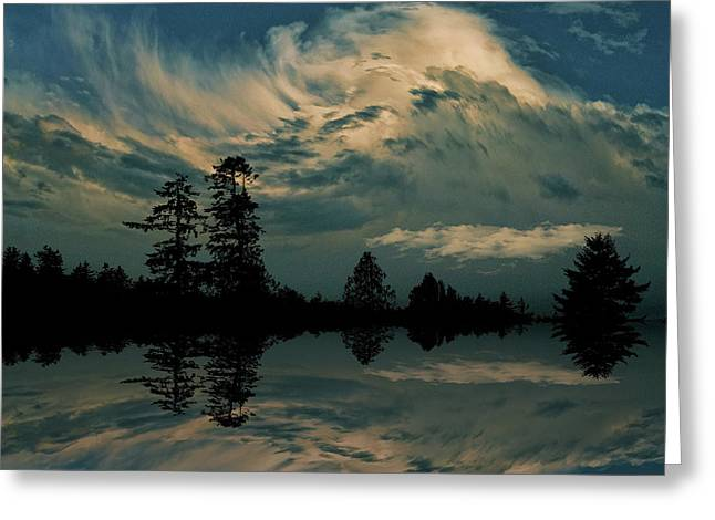 Greeting Card featuring the photograph 4395 by Peter Holme III