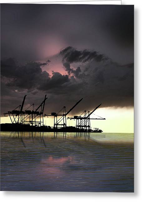 Greeting Card featuring the photograph 4396 by Peter Holme III