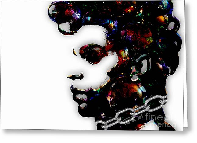 Prince Collection Greeting Card by Marvin Blaine