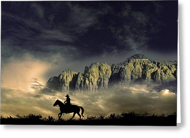 Greeting Card featuring the photograph 4403 by Peter Holme III