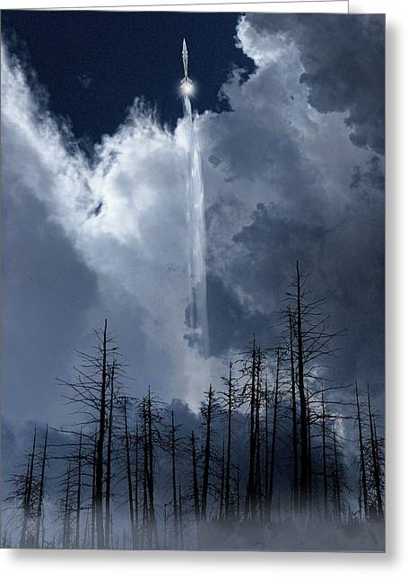 Greeting Card featuring the photograph 4404 by Peter Holme III