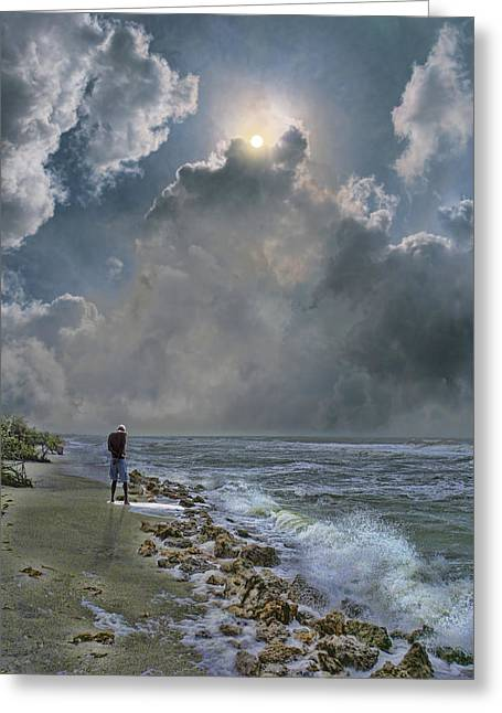 Greeting Card featuring the photograph 4405 by Peter Holme III