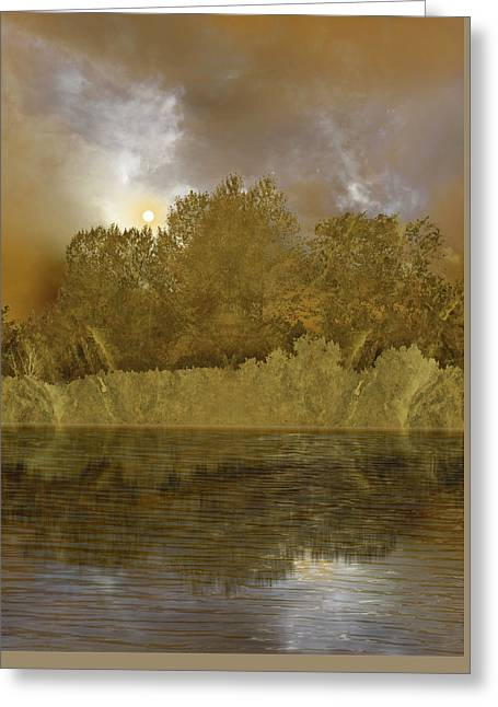 Greeting Card featuring the photograph 4411 by Peter Holme III