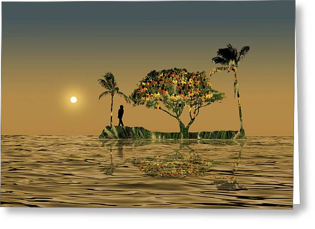 Greeting Card featuring the photograph 4423 by Peter Holme III