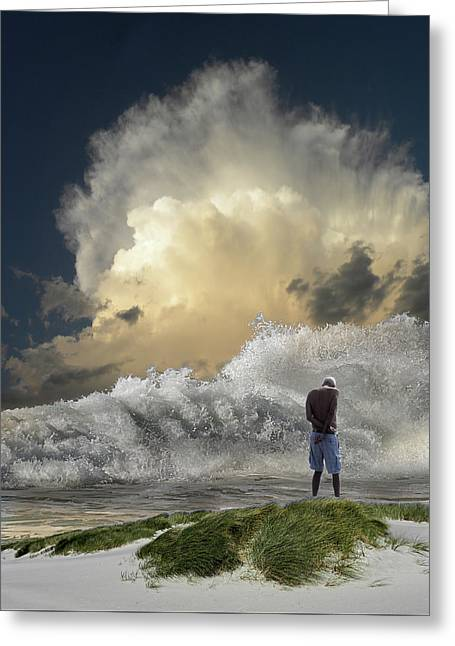 Greeting Card featuring the photograph 4457 by Peter Holme III