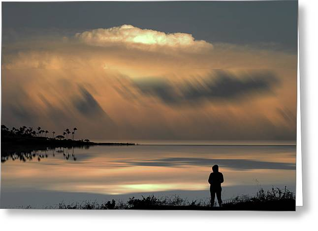 Greeting Card featuring the photograph 4459 by Peter Holme III