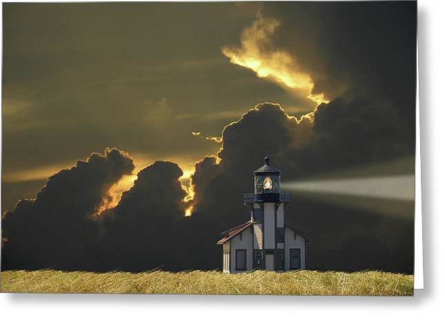 Greeting Card featuring the photograph 4465 by Peter Holme III