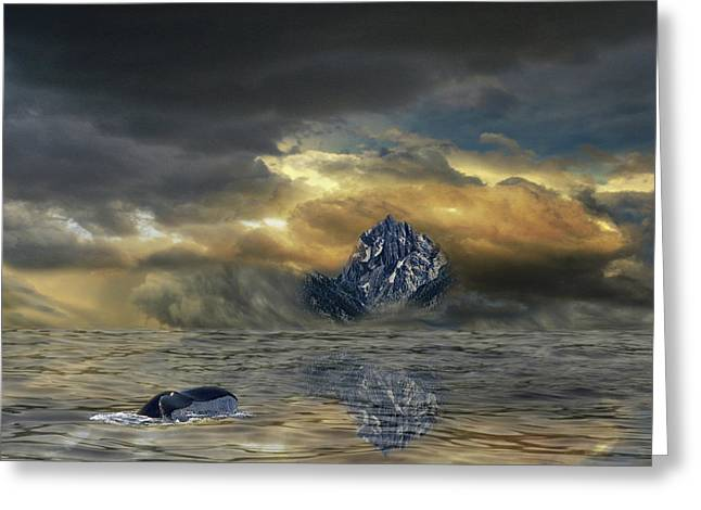 Greeting Card featuring the photograph 4471 by Peter Holme III