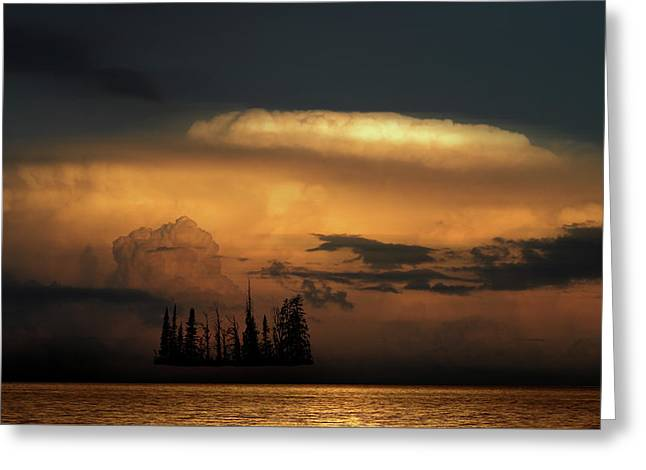 Greeting Card featuring the photograph 4476 by Peter Holme III