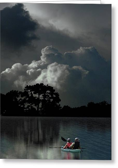 Greeting Card featuring the photograph 4477 by Peter Holme III
