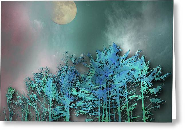 Greeting Card featuring the photograph 4480 by Peter Holme III