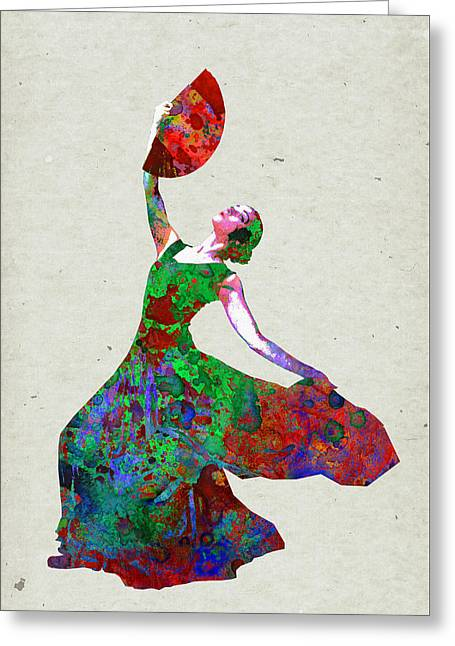 Dance Greeting Card