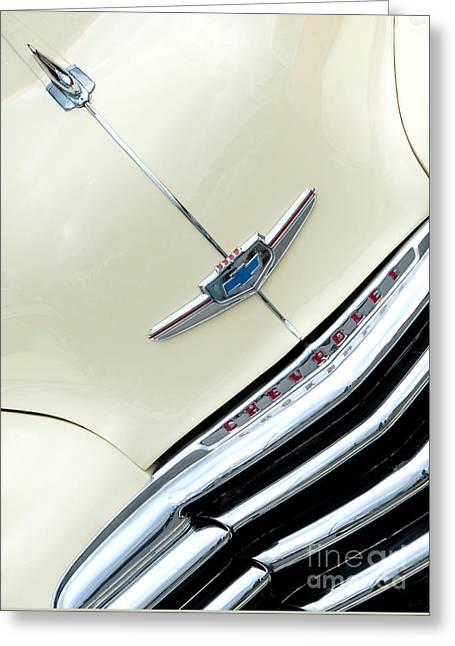 47 Chevrolet Saloon Greeting Card