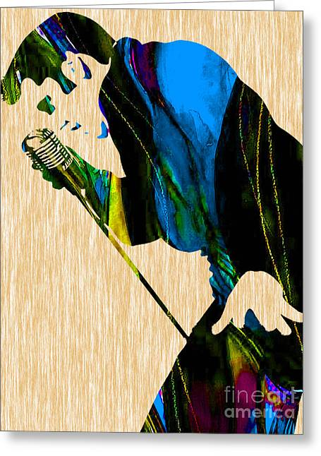 Elvis Presley Collection Greeting Card by Marvin Blaine