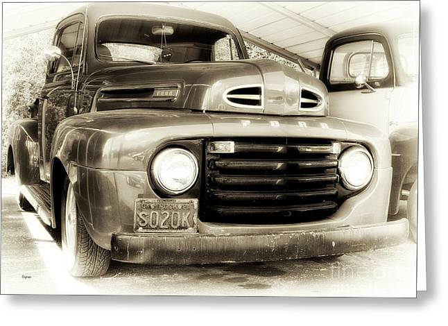 48 Ford  Greeting Card by Steven Digman