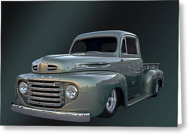 49 Ford Pick Up Greeting Card by Jim  Hatch