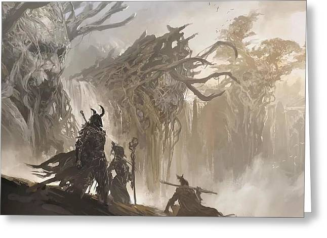 49830 Guild Wars 2 Greeting Card by F S